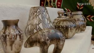 How a native American potter continues the tradition of horsehair pottery in the 21st century