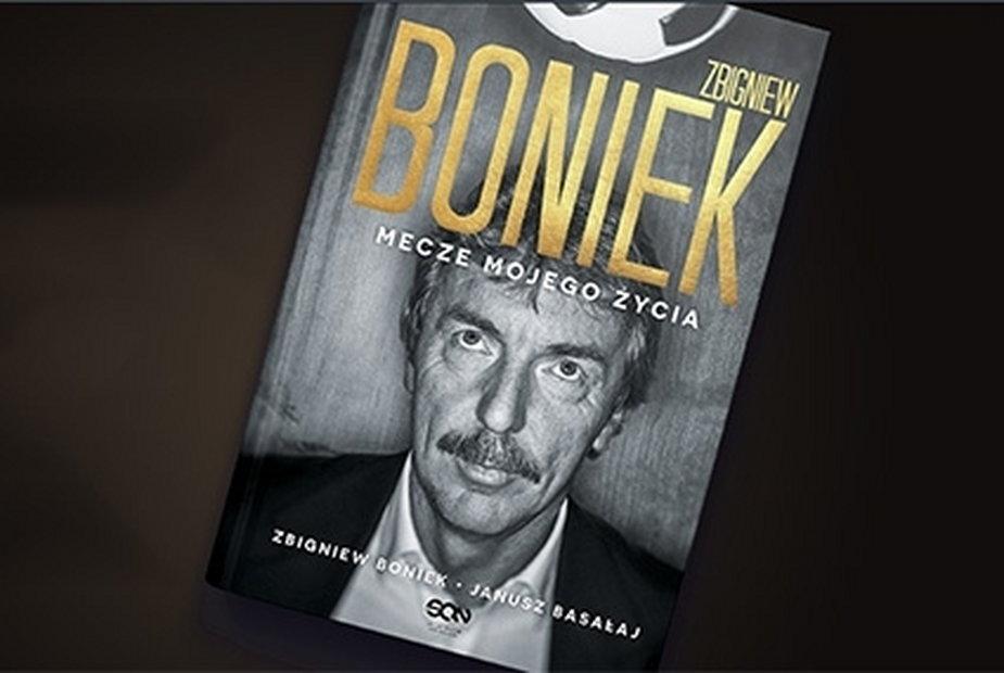 """Okładka książki """"Zbigniew Boniek. Mecze mojego życia"""""""