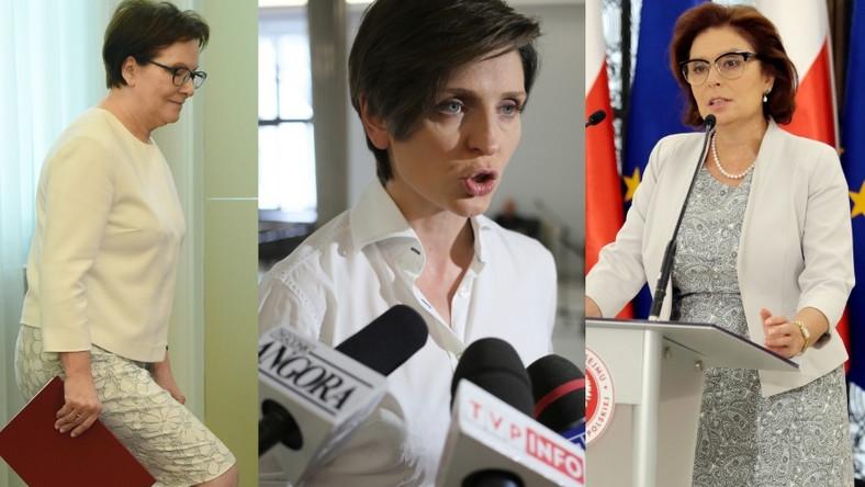 Na wczorajszym posiedzeniu rządu wszystkie panie zaprezentowały się w letnich stylizacjach...