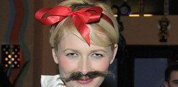 Kolejna kobieta z wąsem. W Polsce...