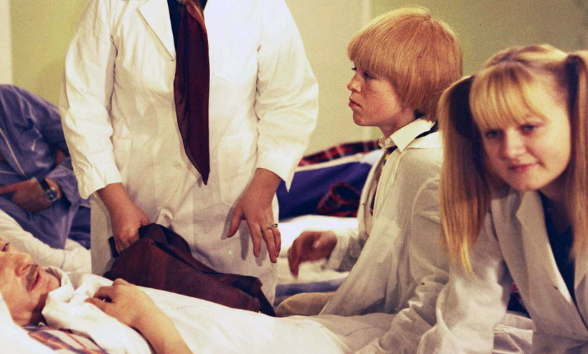 Aktor grający syna głównego bohatera musiał nosić perukę