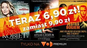 Kinowe przeboje od teraz taniej w VoD.pl