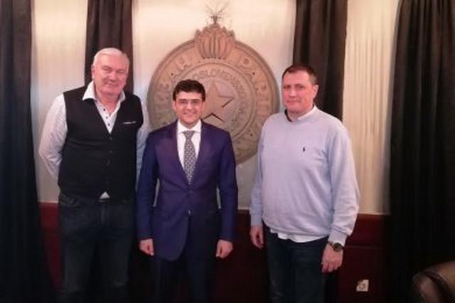Željko Perkunić, Goran Đoković i Vladimir Ilić