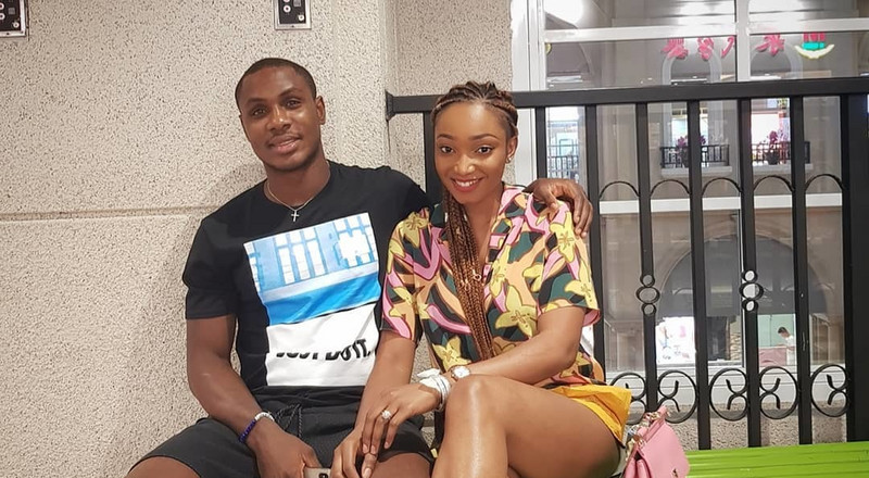 Odion Ighalo's estranged wife Sonia removes his name on her social media as marital crisis continues