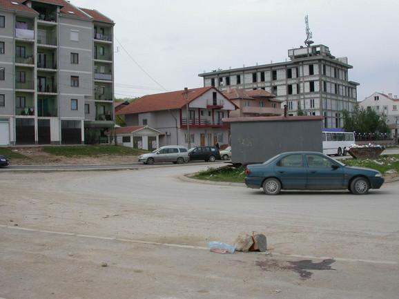 Mesto pucnjave u Mokranjčevoj ulici, gde je 2008. stradao Marko Pavlović iz Niša