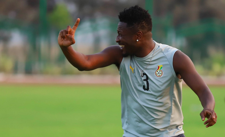 Black Stars General Captian, Asamoah Gyan