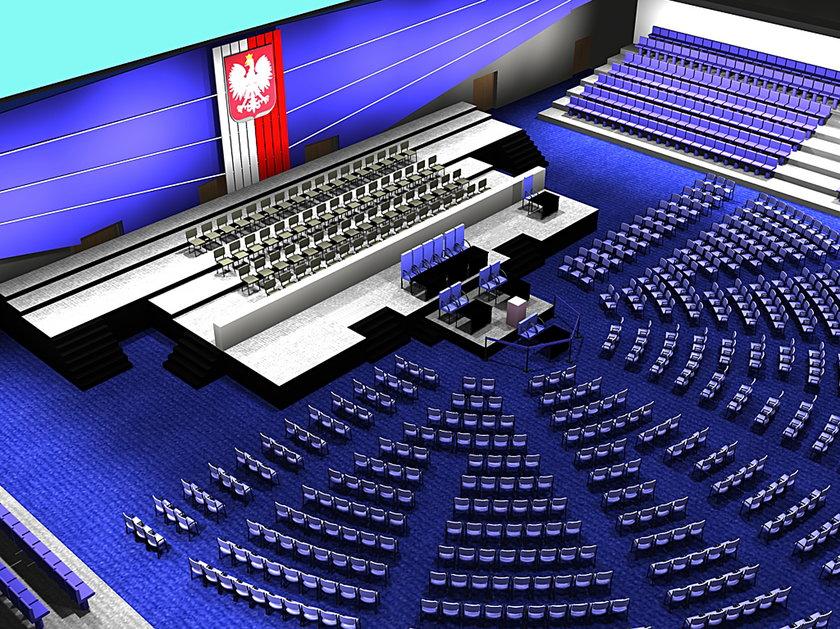 Specjalne posiedzenie Sejmu i Senatu odbędzie w Sali Ziemi
