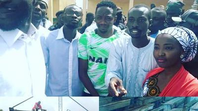Super Eagles captain Ahmed Musa donates desks to primary school in Jos