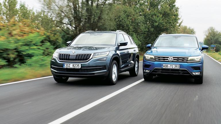 Porównanie: Skoda Kodiaq kontra VW Tiguan