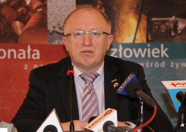 Herbert Wirth, prezes KGHM : Chcemy, żeby w 2017 r. 30 proc. przychodów KGHM pochodziło z sektora energetycznego. Dlaczego? Ceny energii w Polsce będą rosły.