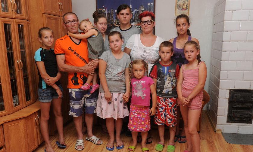 Matka dziewięciorga dzieci.
