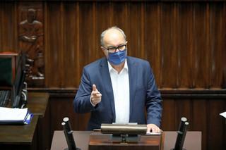 Czarzasty do szefa MSWiA: Nie powiedział pan prawdy ws. środowych wydarzeń przed Sejmem