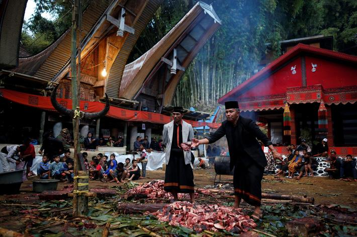 The Wider Image: Indonesians celebrate the dead in ancient ritual