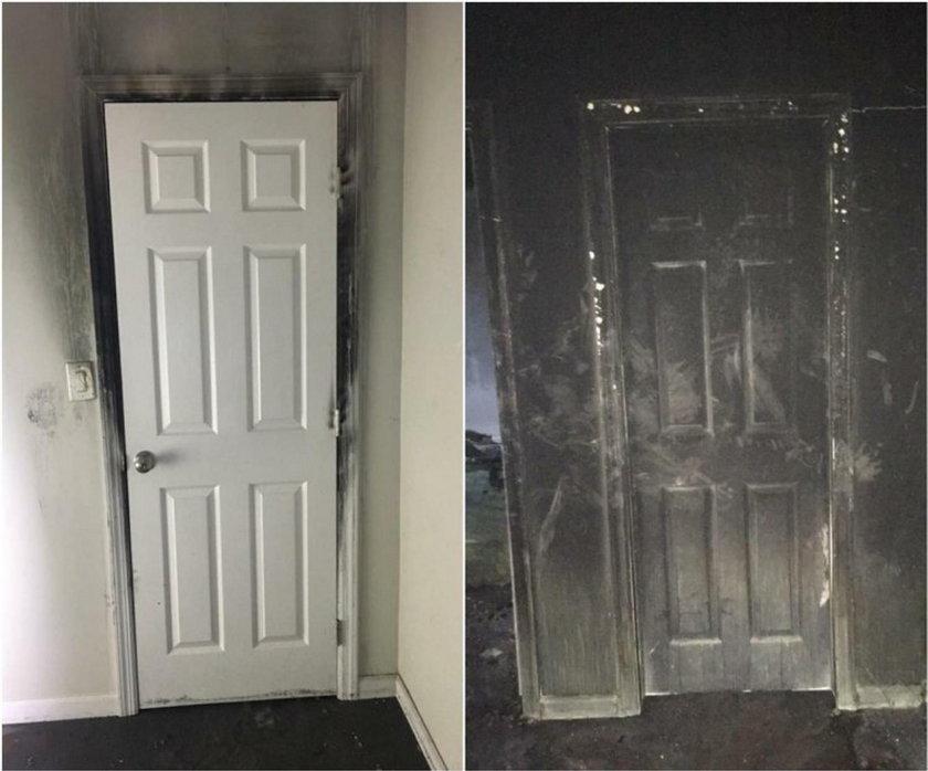 USA: apel strażaków. Nie zostawiaj dzieciom zamkniętych drzwi