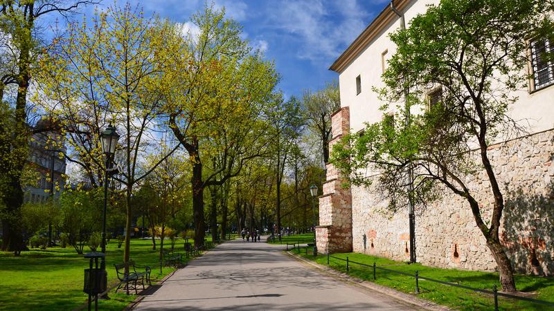 Planty, Kraków