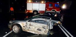 Przerażający wypadek młodego kierowcy! Auto się rozpadło