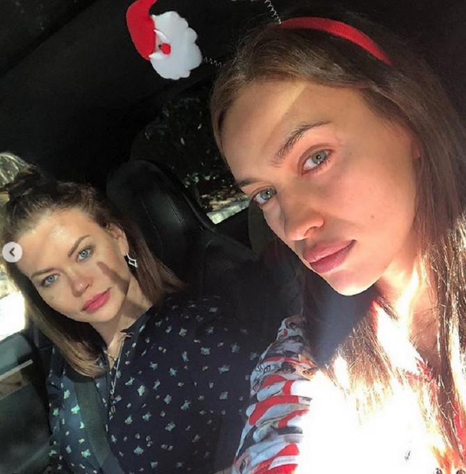 Irina Šajk i Tatijana Petenkova