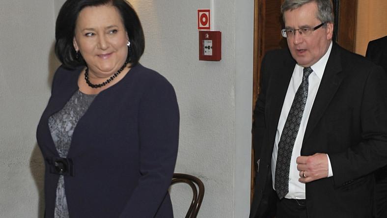 Para prezydencka wzięła udział w jubileuszu 50-lecia pracy artystycznej Marty Lipińskiej. Wydarzenie odbyło się w Teatrze Współczesnym