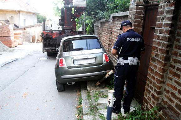 Oštećen automobil Zorane Vučković