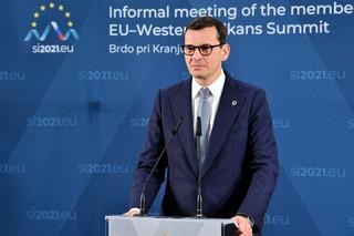 Morawiecki po wyroku TSUE: Próba uderzenia w stabilność systemu społeczno-prawnego