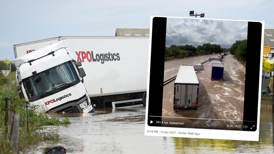Gwałtowne burze i powodzie na południu kraju