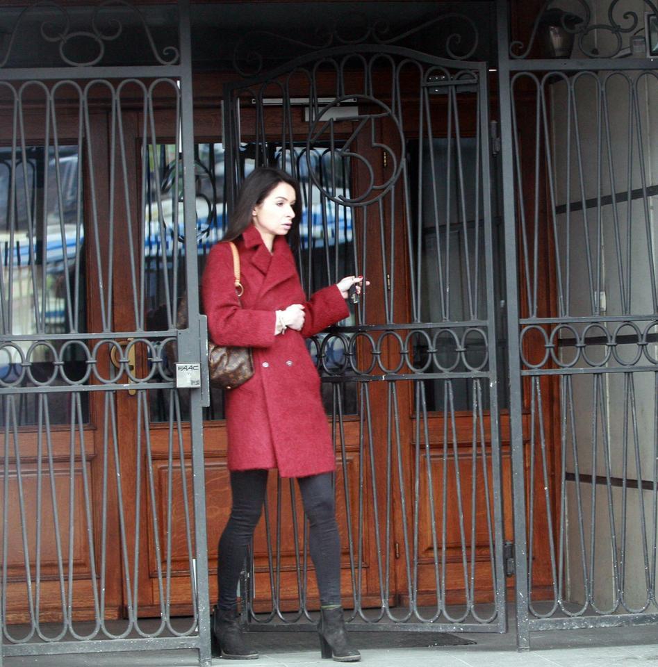 500fe9aafdd04 Marta Kaczyńska z drogą torebką Louis Vuitton i portfelem