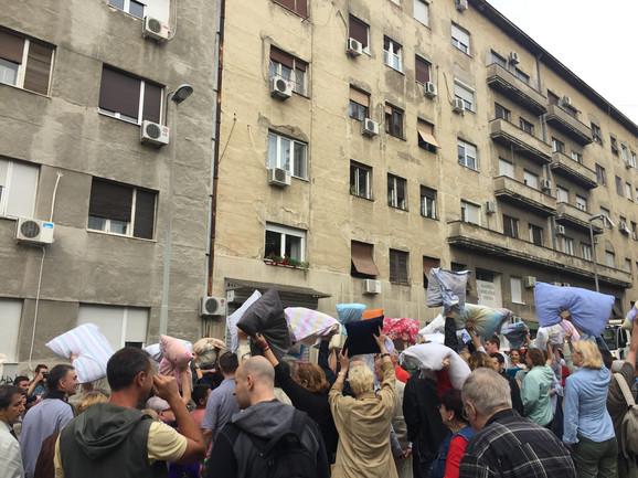 Jedan od protesta u Cetinjskoj