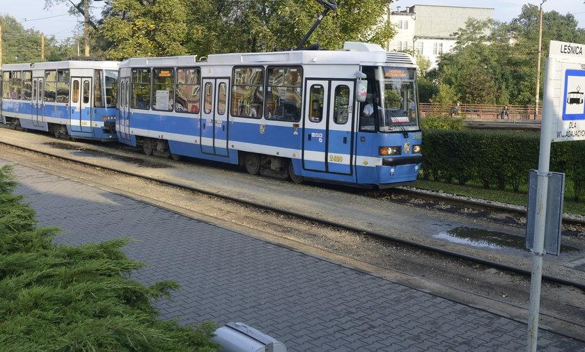 Tory tramwajowe na Leśnicę