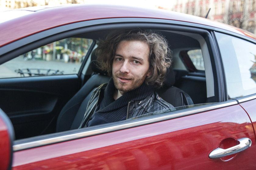 Paweł Pasternak (27l.), kierowca