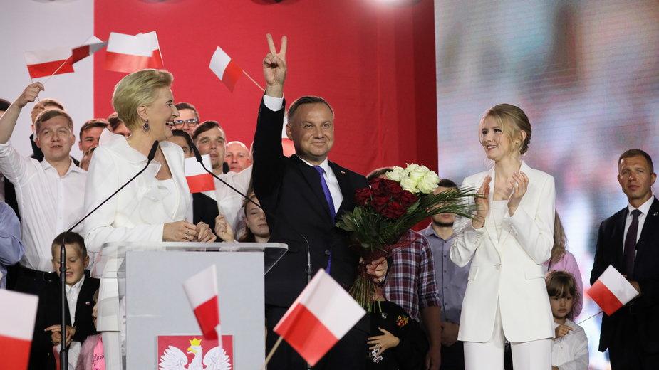 Zwycięzcą wyborów prezydenckich jest Andrzej Duda