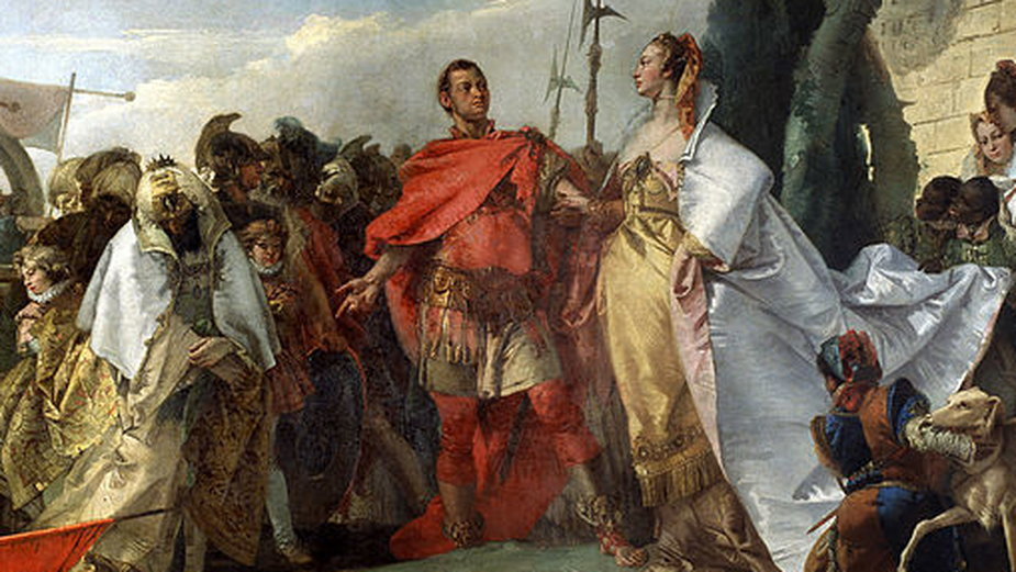Jak Kleopatra zdobyła Cezara?