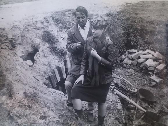 Puriša Đorđević i Milena Dravić imalii su nekoliko značajnih projekata