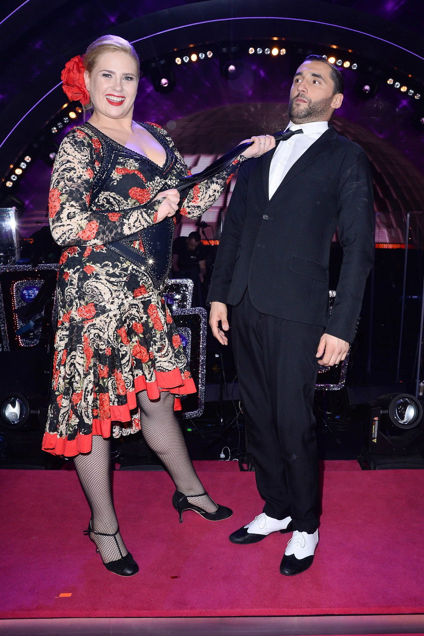 Elżbieta Romanowska i Rafał Maserak