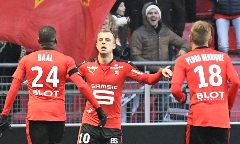 Kamil Grosicki strzelił cudownego gola dla Stade Rennes. ZOBACZ