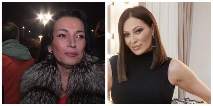 Goca Božinovska i Ceca Ražnatović