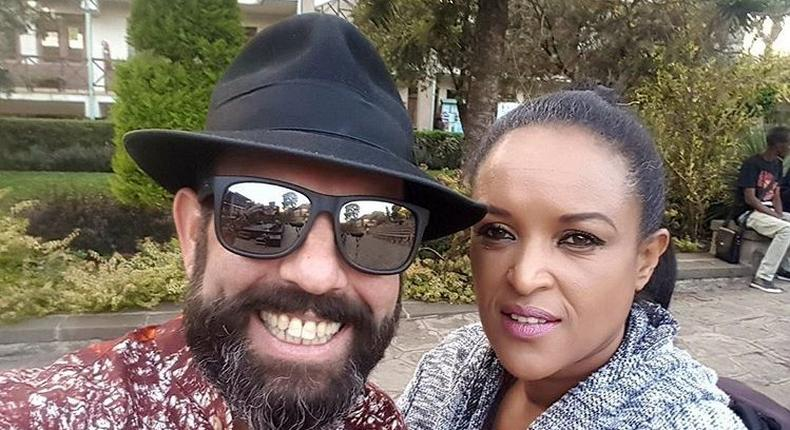 Gilad Millo with singer Tsedenia Gebre. I spent Sh20 million on Cigarettes – Singer Gilad opens up on quitting smoking after 30 years