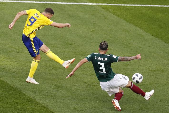 Group F Mexico vs Sweden