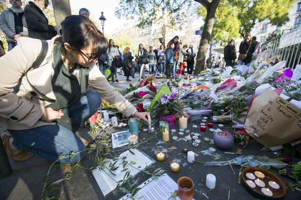 Paryż Bataclan żałoba