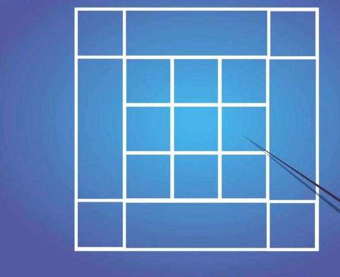 Koliko kvadrata možete da nađete?