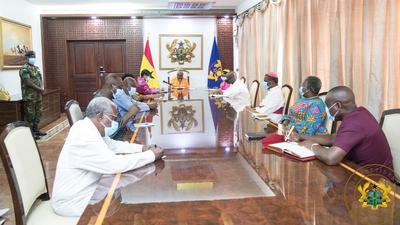 Akufo-Addo inaugurates COVID-19 Fund board