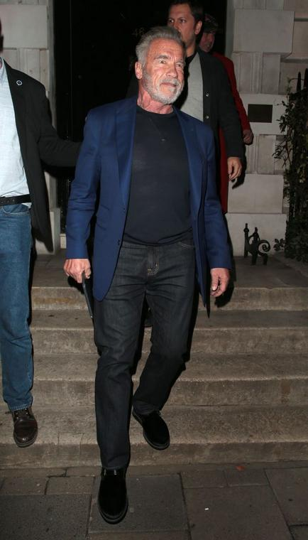 Arnold Schwarzenegger in London