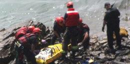 Dramat nad wodą! Spadł 54 metry głową w dół