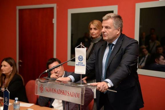Mr Mirko Petrović, predsednik Izvršnog odbora Kompanije Dunav osiguranje