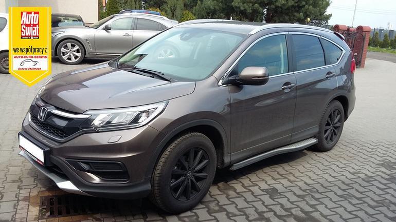 Honda CR-V - tanio bo na gazie