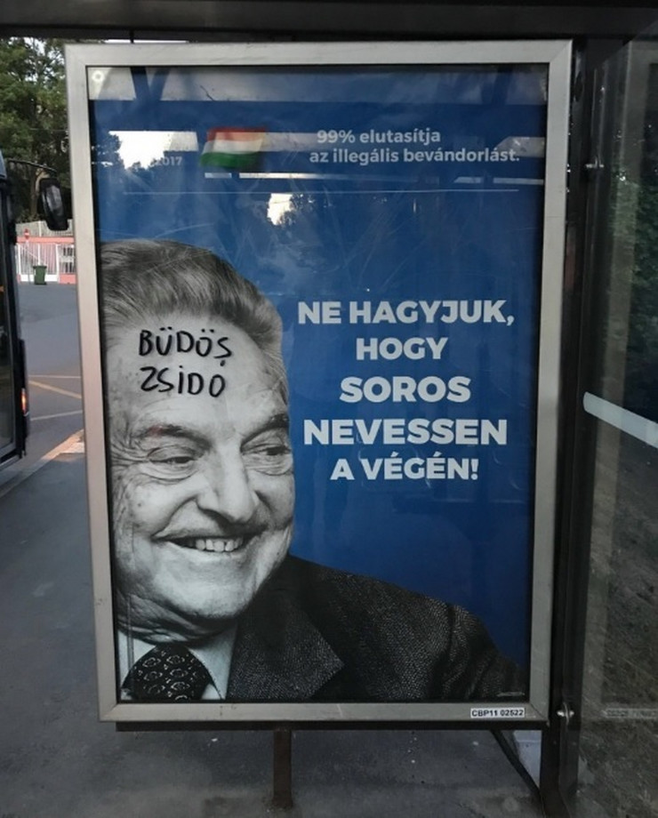 Džordž Soros plakati