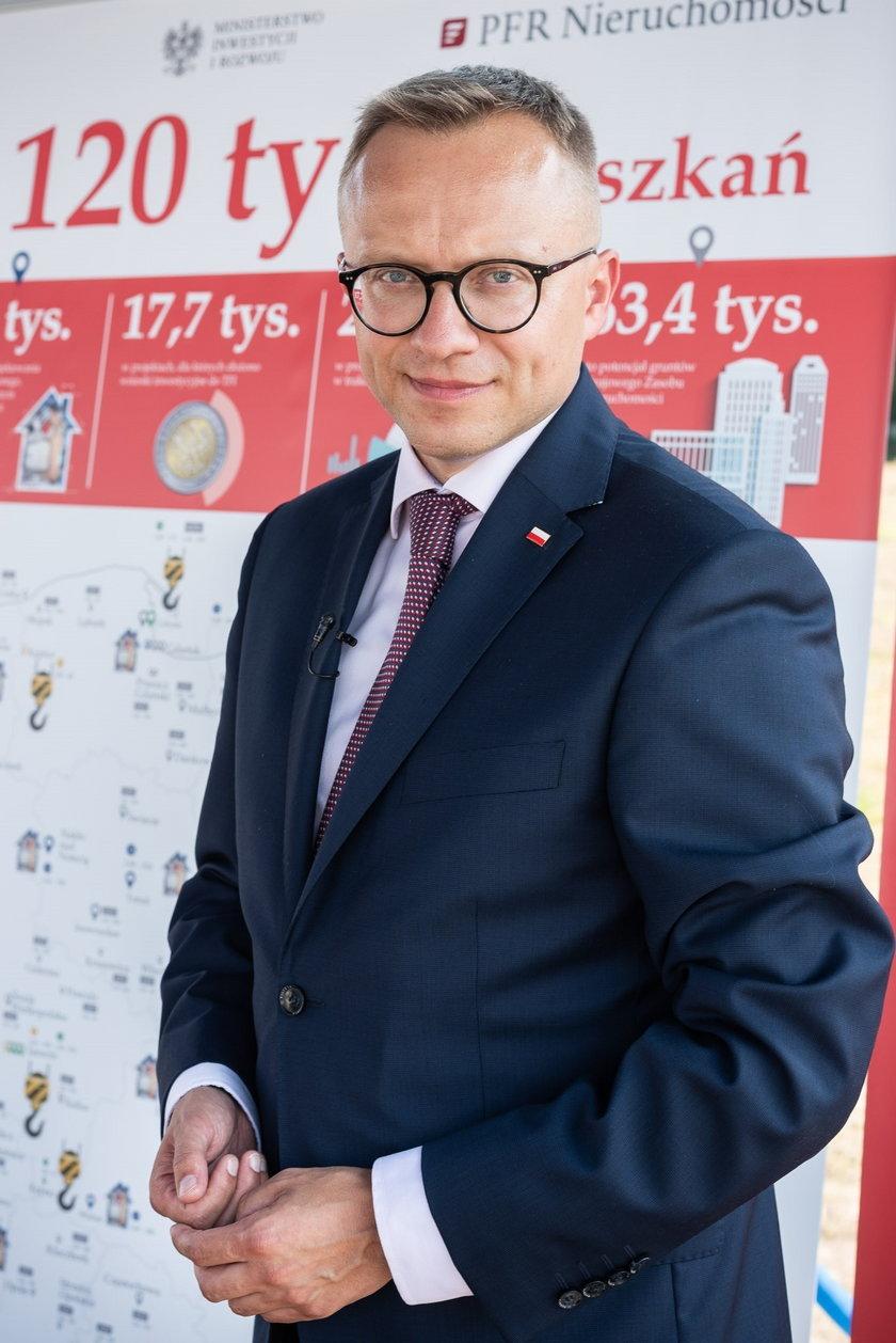 Artur Soboń, wiceminister inwestycji i rozwoju