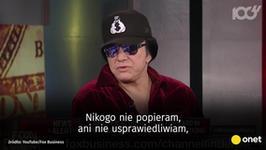 Gwiazdor rocka tłumaczy się z kontrowersyjnego występu w tv