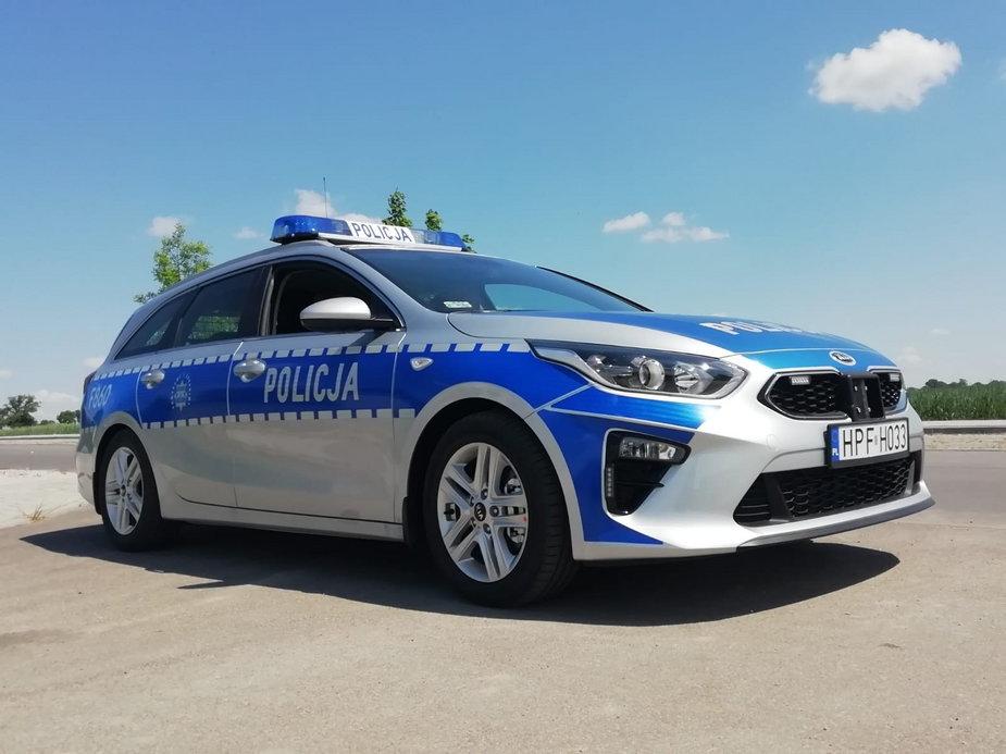 Nowoczesny radiowóz dla łęczyckich policjantów