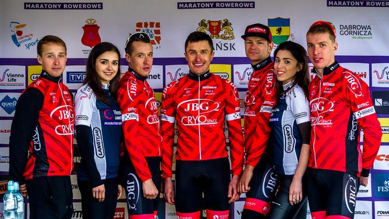 Vienna Life Lang Team: wspaniała jazda JBG-2 Professional MTB Team na trudnej trasie w Krakowie