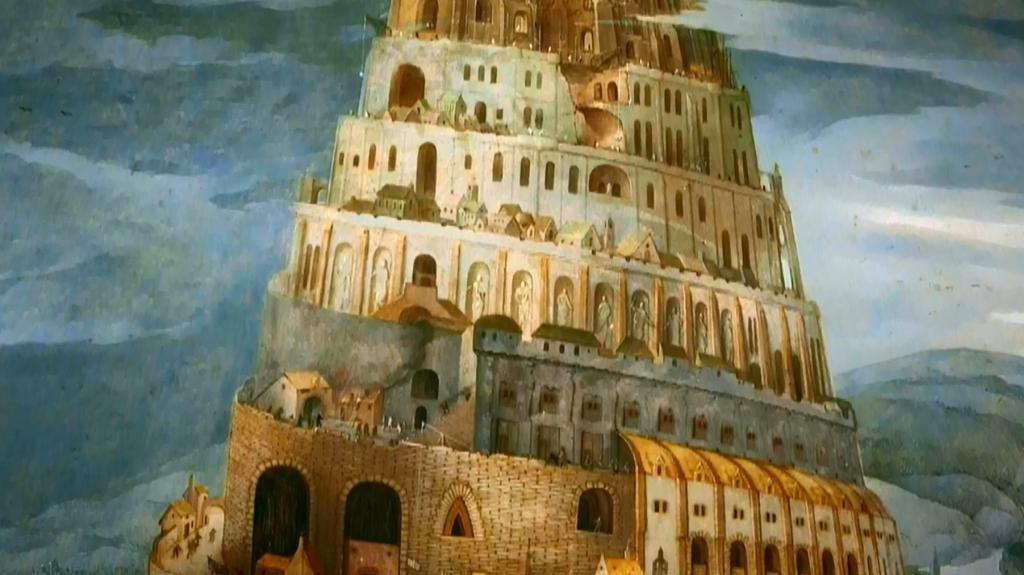 Znalezione obrazy dla zapytania wieża babel
